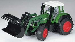 Bruder Fendt Favorit 926 Vario tractor with frontlodaer