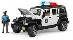 Bruder Jeep Wrangler Unlimited Rubicon Police vehicle