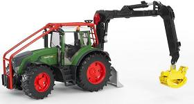 Bruder Fendt 936 Vario Forestry tractor with crane