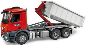 Bruder Mercedes-Benz MB Arocs lorry with transport container