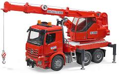 Bruder Mercedes-Benz MB Arocs Crane truck with light and sound module