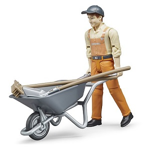 Bruder Bworld municipal worker figure set