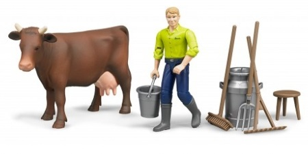 Bruder figure set farming