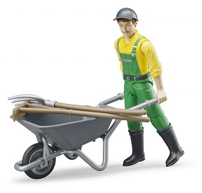Bruder Bworld figure set farmer with accessories