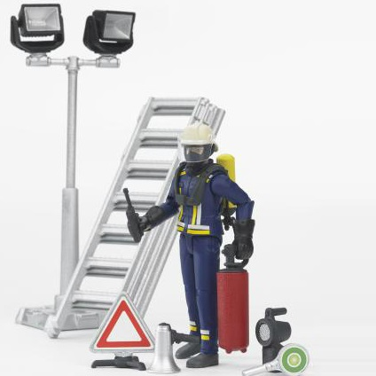 Bruder Fire brigade figure set