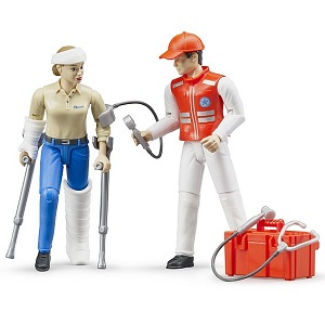 Bruder emergency services figure set