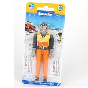 Bruder snowscooter driver