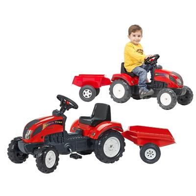 Tractor Trac Set Rood 2/5