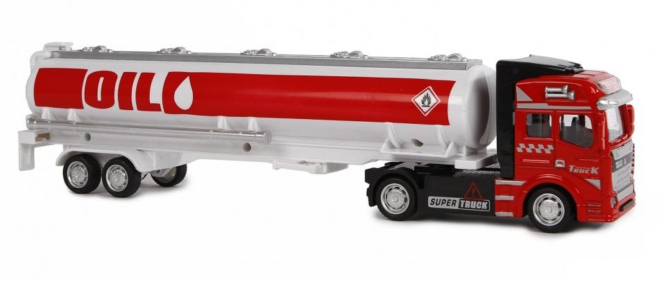 2-Play tanker vrachtwagen met pullback motor