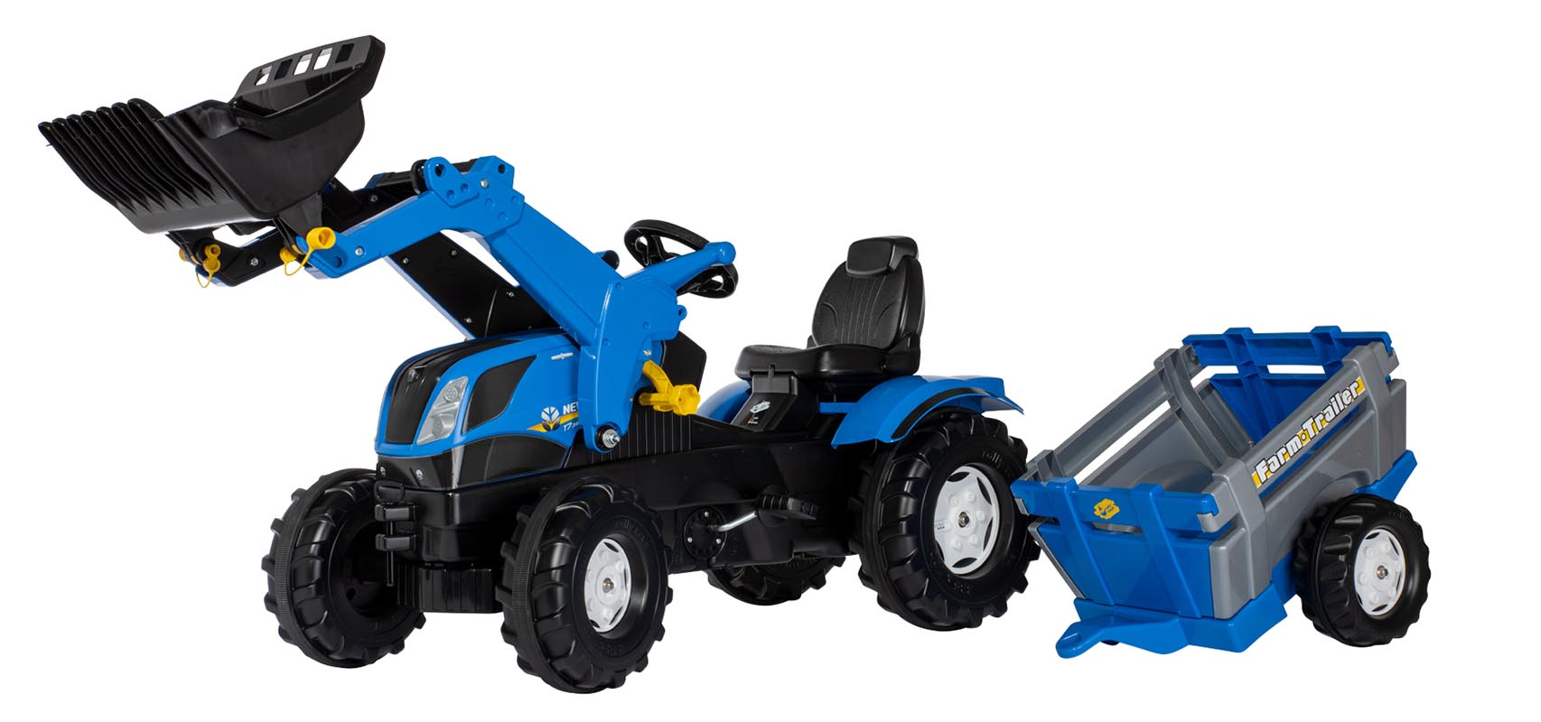 Ensemble Rollytoys rollyFarmtrac New Holland avec ...