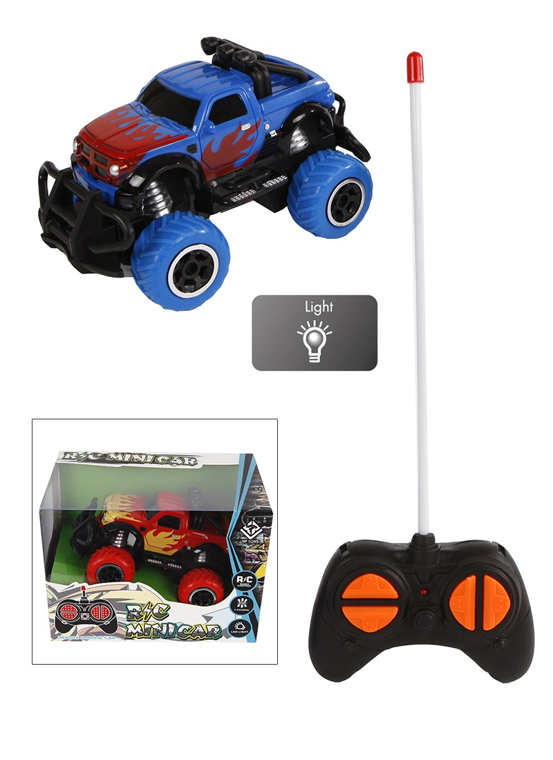 RC Minicar Big Wheel