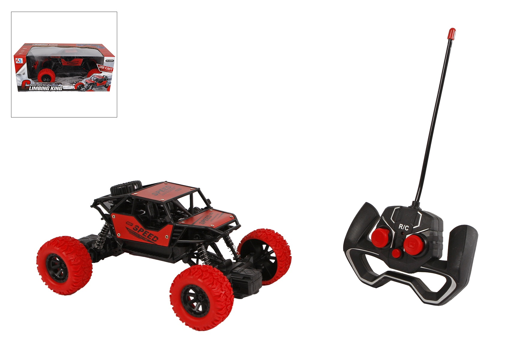 Climbing King RC car