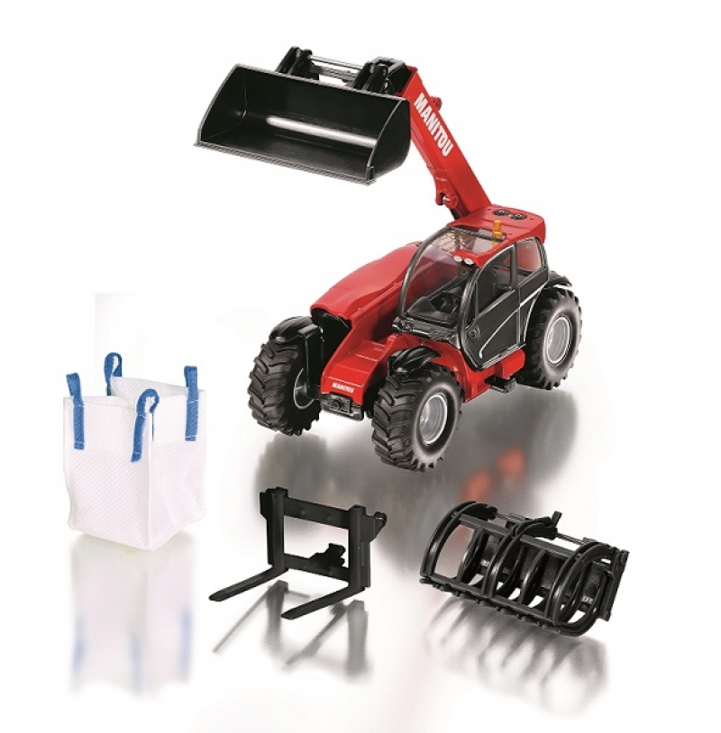 Manitou loader with accessories