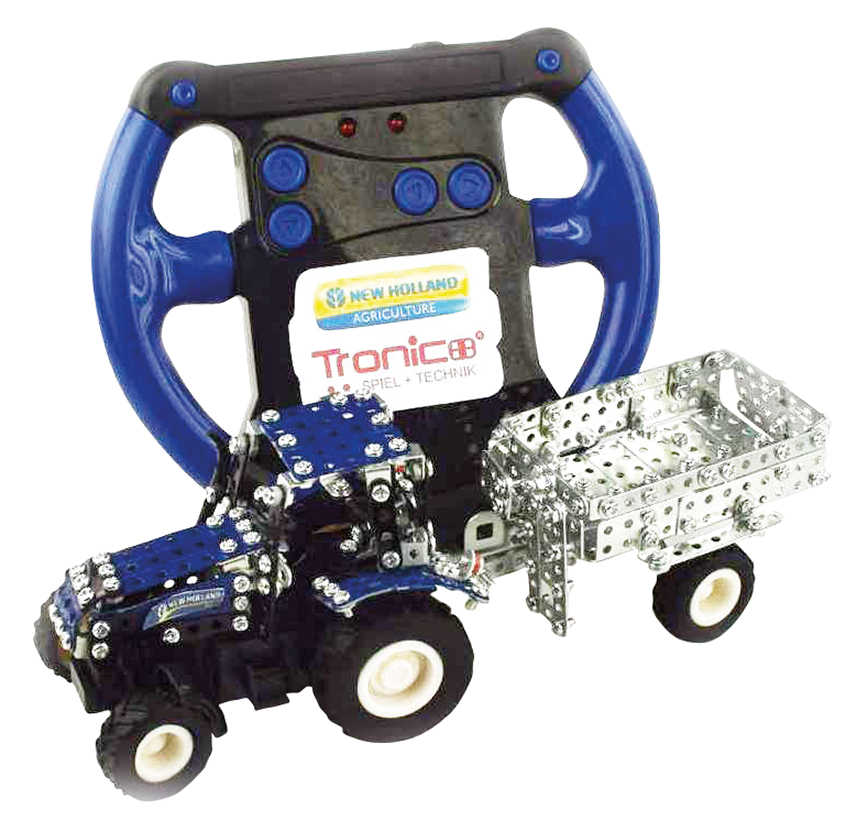 Tronico New Holland TS-115 tractor with R/C steering building kit