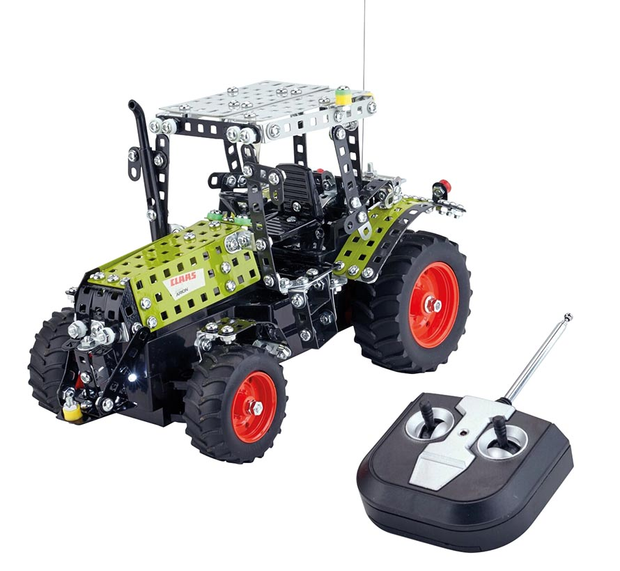 Tronico Claas Arion 430 tractor with R/C steering building kit (1:24)