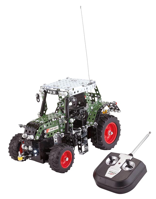 Tronico Fendt 313 Vario tractor with R/C steering building kit (1:24)