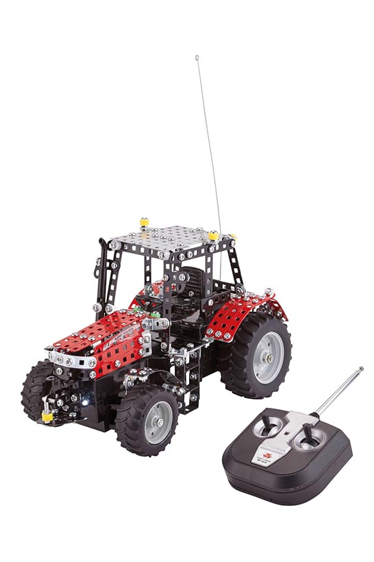 Tronico Massey Ferguson 5430 tractor with R/C steering building kit (1:24)