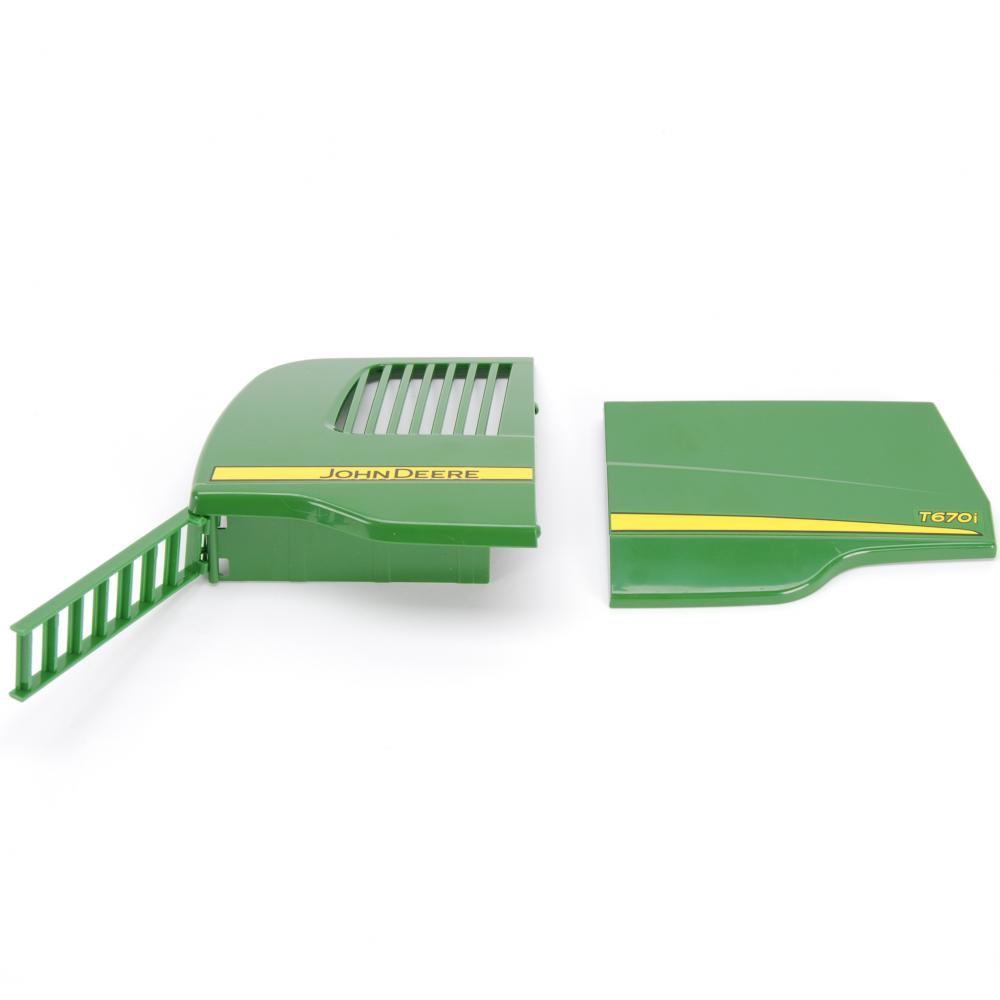 Flaps, right, and ladder for John Deere T670i