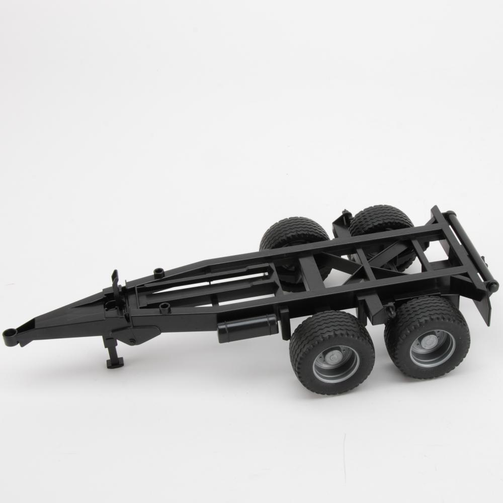 Chassis for tipping trailer