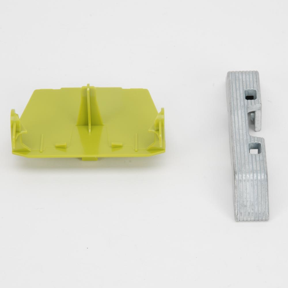 Jaguar adapter and counterweight for Claas Disco